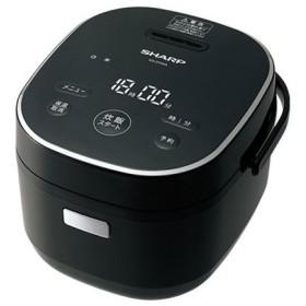 SHARP KS-CF05A-B ブラック系マイコン炊飯器(3合炊き)
