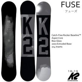 【クーポン発行中】 【国内正規品】 ケーツースノーボード K2 スノーボード メンズ FUSE 【2018-19】