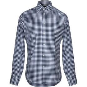 《セール開催中》ZANETTI 1965 メンズ シャツ ブルー 39 コットン 100%
