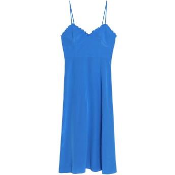《セール開催中》TIBI レディース 7分丈ワンピース・ドレス アジュールブルー 12 シルク 100%