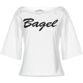 《期間限定 セール開催中》MANGANO レディース T シャツ ホワイト S コットン 100%