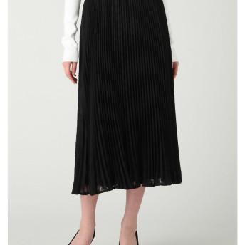 シアージャガードプリーツスカート LAGUNAMOON○031810800201 ブラック スカート