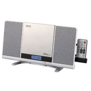 小泉成器 CDラジオ(ラジオ+SD+USBメモリー+CD) SDB−4342W ホワイト [Bluetooth対応 /ワイドFM対応]