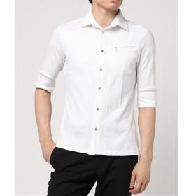 [マルイ]【セール】PIXIE(ピクシー)ホリゾンタルレイヤードカラーシャツ/バッファローボブズ(BUFFALO BOBS)