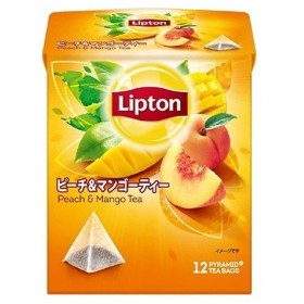 リプトン ピーチ&マンゴー ティーバッグ ( 12包2コセット )/ リプトン(Lipton)