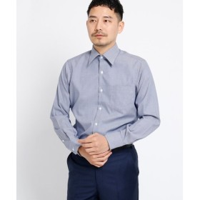 TAKEO KIKUCHI / タケオキクチ ブロックピンオックスシャツ[ メンズ シャツ オックス ]