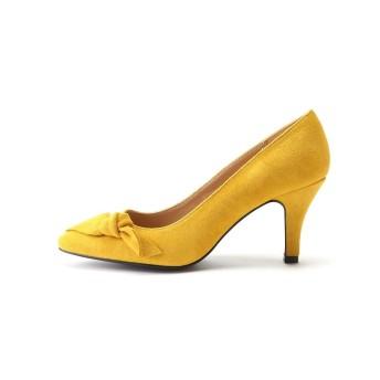 アネリ リボン付きパンプス ジルスチュアートライセンス○0928285002 Mustard パンプス