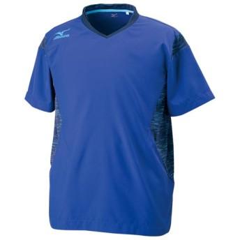 MIZUNO SHOP [ミズノ公式オンラインショップ] ブレーカーシャツ[ユニセックス] 28 ブループリントxアトミックブルー V2ME7501