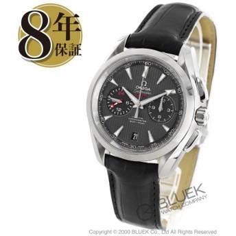 オメガ シーマスター アクアテラ クロノグラフ GMT アリゲーターレザー 腕時計 メンズ OMEGA 231.13.43.52.06.001_5