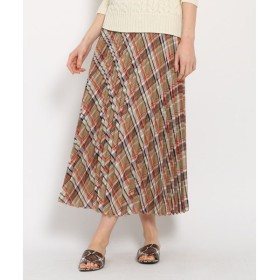 DRESSTERIOR / ドレステリア シアーチェックプリーツスカート