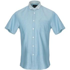 《期間限定セール開催中!》COMMUNE DE PARIS 1871 メンズ デニムシャツ ブルー M コットン 100%