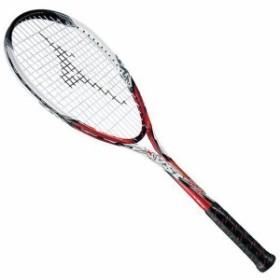 大特価!MIZUNO ミズノ ソフトテニスラケット【フレームのみ】 ジスト Z1 62:レッド/ホワイト(63jtn51162)