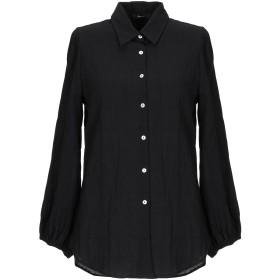 《期間限定セール開催中!》TRUE TRADITION レディース シャツ ブラック 40 コットン 99% / ポリウレタン 1%