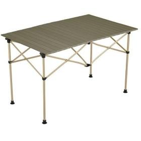 コールマン(Coleman) キャンプ用品 イージーロール2ステージテーブル/110 オリーブ 2000034679 2019年 新商品 アウトドア ロールテーブル バーベキュー