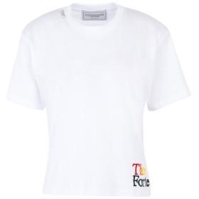 《期間限定セール開催中!》FORTE DEI MARMI COUTURE レディース T シャツ ホワイト XS コットン 100%