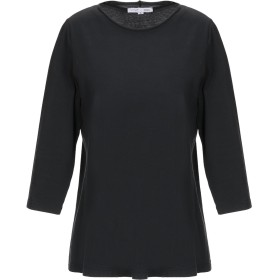 《セール開催中》SHIRT C-ZERO レディース T シャツ ブラック S コットン 88% / ポリウレタン 12%