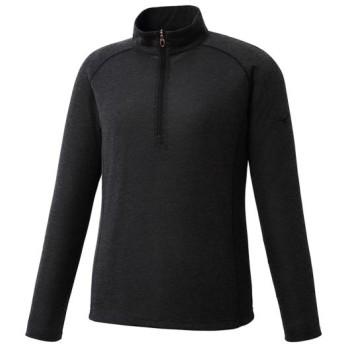 MIZUNO SHOP [ミズノ公式オンラインショップ] ブレスサーモライトインナージップネックシャツ[レディース] 09 ブラック A2MA7766
