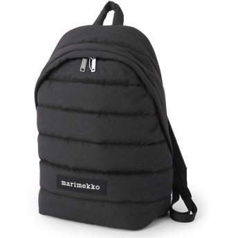 marimekko マリメッコ PADDED BAGS 045486 LOLLY Reppu 中綿キルティング ナイロン バックパック リュック デイパック 009/ブラック レディース
