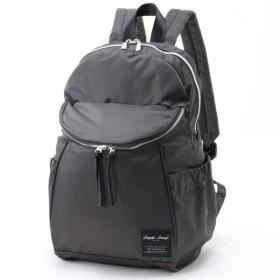 バッグ カバン 鞄 レディース リュック 撥水高密度ナイロン10ポケットリュック カラー 「インクブラック」