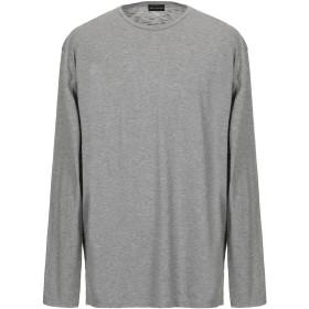 《期間限定セール開催中!》SKILL_OFFICINE メンズ T シャツ グレー 3 コットン 100%