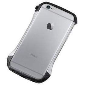 ディーフ iPhone 6s/ 6用ハイブリッド バンパー(カーボン&シルバー) Deff CLEAVE Hybrid Bumper for iPhone6 DCB-IP6A6CASV 返品種別A