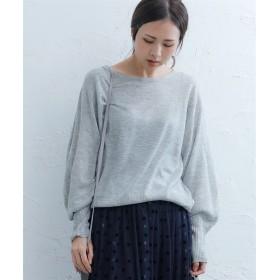 シンプルドルマンニット (ニット・セーター)(レディース),Knitting