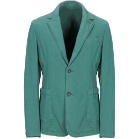 《期間限定セール開催中!》CLOSED メンズ テーラードジャケット グリーン 48 コットン 100%
