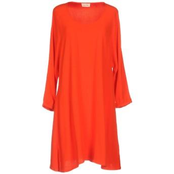 《セール開催中》AMERICAN VINTAGE レディース ミニワンピース&ドレス オレンジ XS/S レーヨン 100%