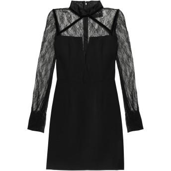 《セール開催中》NICHOLAS レディース ミニワンピース&ドレス ブラック 0 ポリエステル 100% / ナイロン