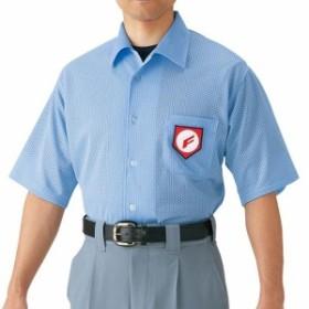 MIZUNO ミズノ 高校野球/ボーイズリーグ審判員用 半袖シャツ(ノーフォーク型)(野球) [ 52HU2418 ]