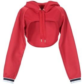 《期間限定セール開催中!》PUMA レディース スウェットシャツ レッド XS ポリエステル 70% / コットン 30% Varsity Cover Up
