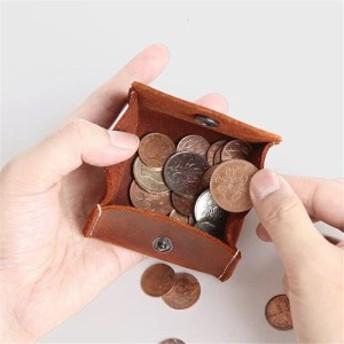 小銭入れ ボックス型 本革 メンズ コイン お札 送料無料 サイフ ウォレット 本革 小銭 お札 コインケース 革 小銭入れ レディース