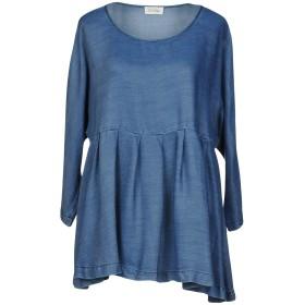 《セール開催中》AMERICAN VINTAGE レディース デニムシャツ ブルー one size テンセル 100%