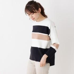 [マルイ]【セール】Lセーター(配色デザインニットプルオーバー)/シューラルー(レディス)(SHOOLARUE Ladies)