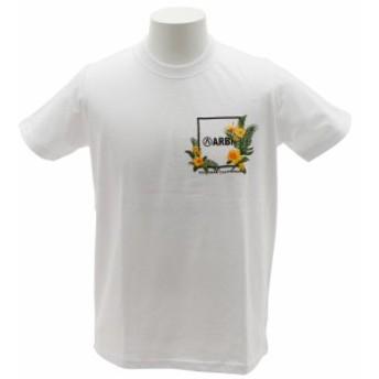 エアボーン(ARBN)BOTANICAL POCKET Tシャツ AB89AW1058 WHT (Men's)