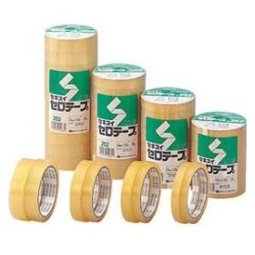 積水化学工業 セロハンテープ 幅15mm×長さ35m(クリア)1パック 10巻 セキスイ セロテープ C252X23 返品種別A