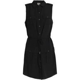 《期間限定セール開催中!》HAUTE HIPPIE レディース ミニワンピース&ドレス ブラック XS ポリエステル 100%