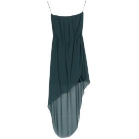 《セール開催中》RELISH レディース ミニワンピース&ドレス ダークグリーン L ポリエステル 100%