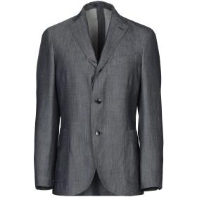 《期間限定セール開催中!》BOGLIOLI メンズ テーラードジャケット スチールグレー 54 ウール 71% / シルク 15% / 麻 14%