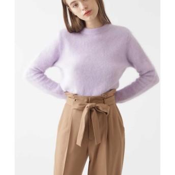 ◆ジェニーアンゴラニット ジルスチュアートライセンス○0928270047 Lavender トップス