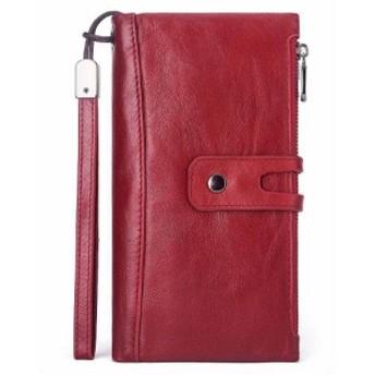 財布 レディース 長財布 人気 puレザー 三つ折り カード入れ 小銭入れ 超軽量 三色展開