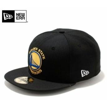 【メーカー取次】 NEW ERA ニューエラ 59FIFTY NBA ゴールデンステイト・ウォリアーズ ブラック 11308670 キャップ