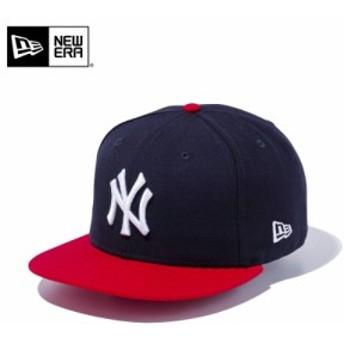 【メーカー取次】 NEW ERA ニューエラ 9FIFTY ニューヨーク・ヤンキース ネイビーXスカーレット 11308468 キャップ