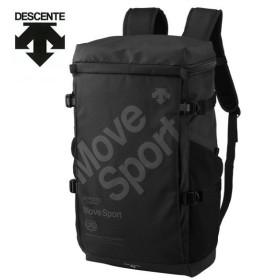デサント DESCENTE バックパック メンズ レディース スクエアバックパック 30L DMANJA07-BK