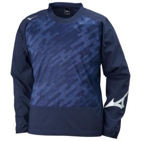 MIZUNO SHOP [ミズノ公式オンラインショップ] ピステシャツ[ジュニア] 14 ディープネイビーxサーフブルー P2ME8120