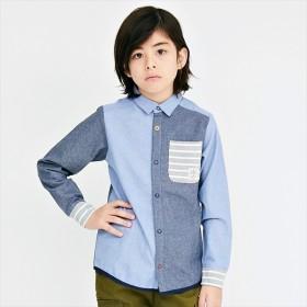 [マルイ]【セール】ドットシャツ(スナップボタンシャツ)【120cm-160cm】/クリフメイヤーキッズ(KRIFF MAYER KIDS)