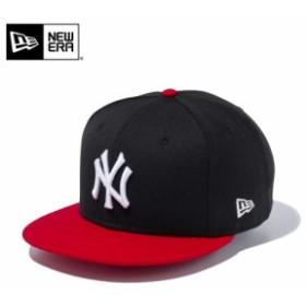 【メーカー取次】 NEW ERA ニューエラ 9FIFTY ニューヨーク・ヤンキース ブラックXスカーレット 11433955 キャップ