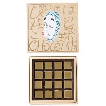 バレンタイン VALENTINE チョコレート 2019 宇治園 ほうじ茶生ショコラ 火男(ひょっとこ) 本命 チョコ