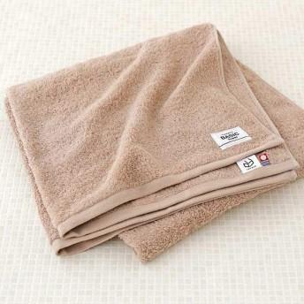 ロハコ限定オリジナルタオルLOHACO Basic towel バスタオル テラブラウン 約65×130cm 1枚 今治タオル