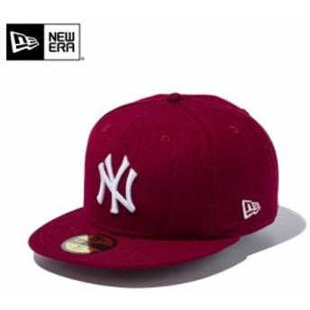 【メーカー取次】 NEW ERA ニューエラ 59FIFTY MLB ニューヨーク・ヤンキース カーディナルXホワイト 11308556 キャップ